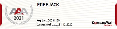 FreeJack bonitet